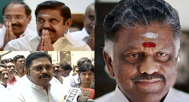 AIADMK: EPS, OPS and TTV, all camps busy with hectic discussions