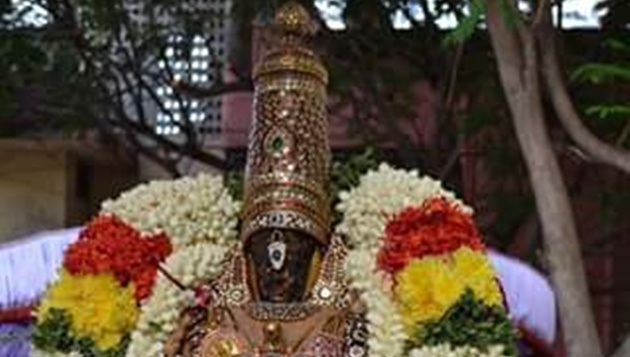 GAJENDRA MOKSHAM at Lord Parthasarathy Temple, Triplicane Monday the 7th Aug 2017 @ 5.30 pm