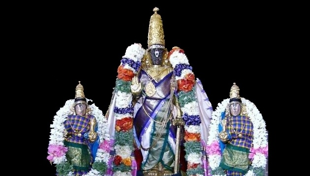 Jyeshta Abhishekam for Lord Parthasarathy Swamy @ Lord Parthasarathy Temple, Triplicane will take place on 8th August 2017 from 11.00 am