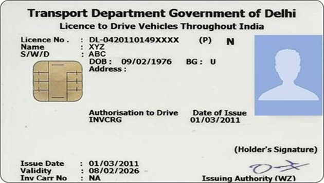 Original driving license must from Sept 1, punishment those who are not having it