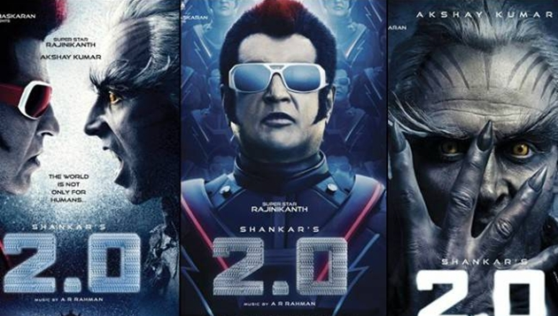 Rajini's 2.0 AP and Telangana sold out for record price