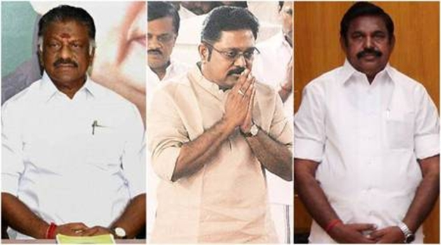 TTV Dinakaran supporting MLAs withdraw support to EPS, OPS gets more portfolios