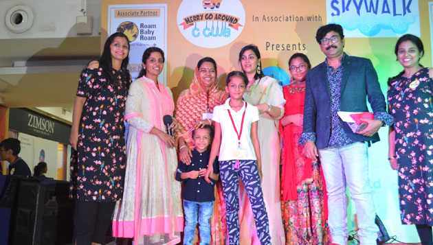 Kids and parents celebrate their talent at Best Parent and Child Jodi 2017 organized by Merry Go Around C Club and Ampa Skywalk