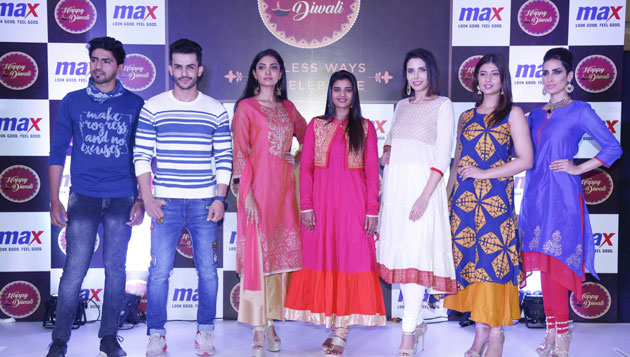 Max unveilsits Festive collection with popular actress Aishwarya Rajesh