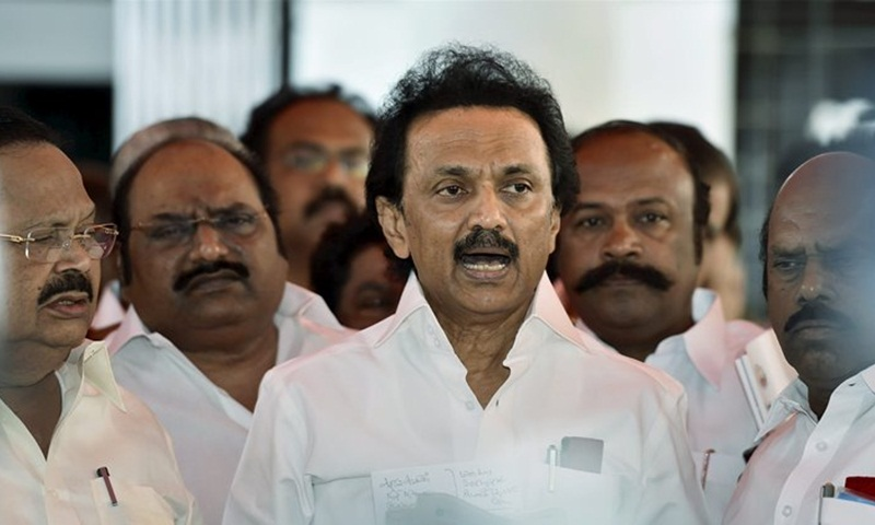 Stalin threatens to bring down TN govt if floor test not ordered