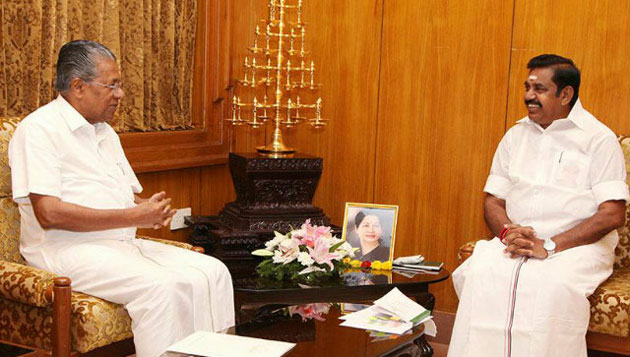 TN, Kerala CMs meet in Chennai; vow to work together to end inter-state problems