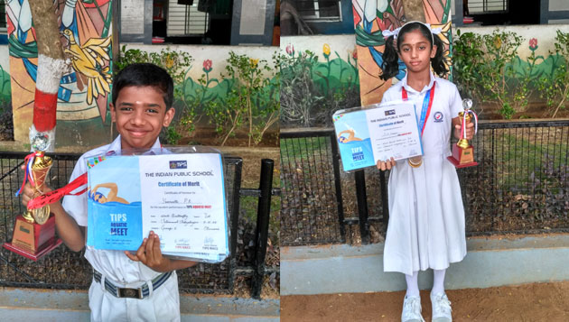 Velammal's 'epic win' in swimming