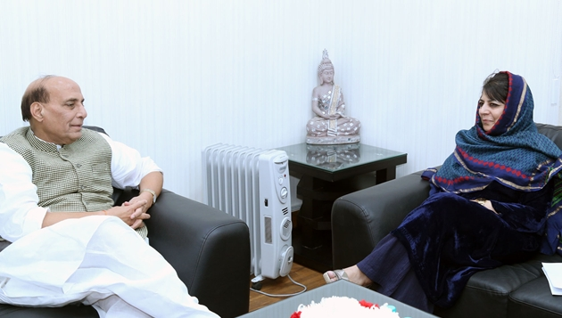 Chief Minister Jammu and Kashmir meets Union Home Minister