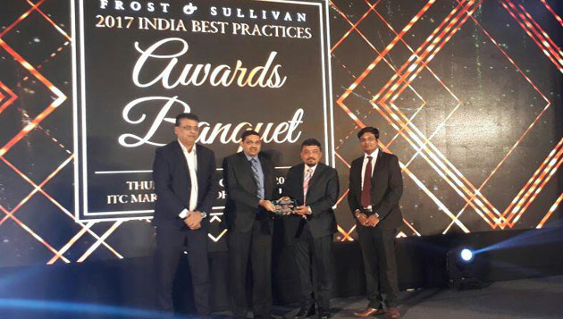 Danfoss India Presented with Frost and Sullivan Award