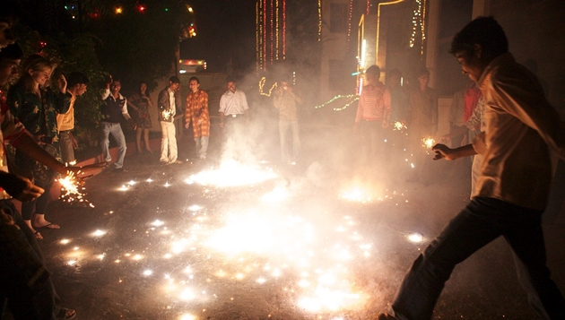 Deepavali impact: Pollution on a high in Chennai due to crackers