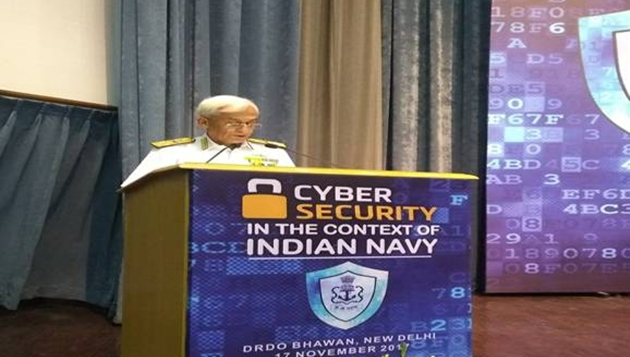 A seminar on 'Cyber Security in the context of Indian Navy' at New Delhi