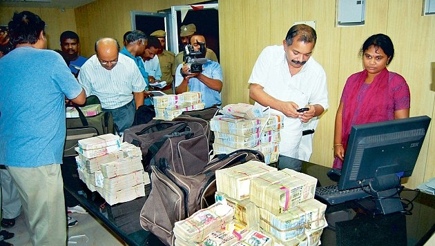 BJP says it is not behind I-T raids