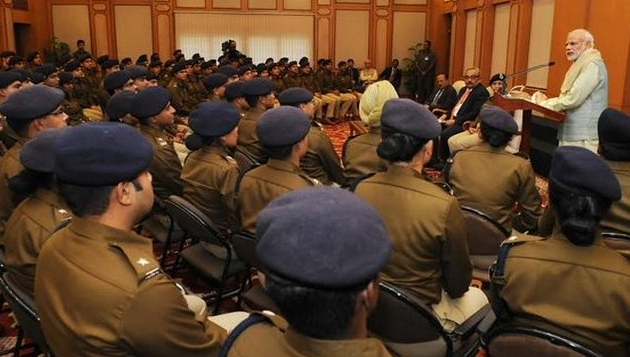 IPS Officer Trainees of 2016 batch call on PM