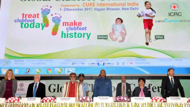 President of India inaugurates Global Clubfoot Conference