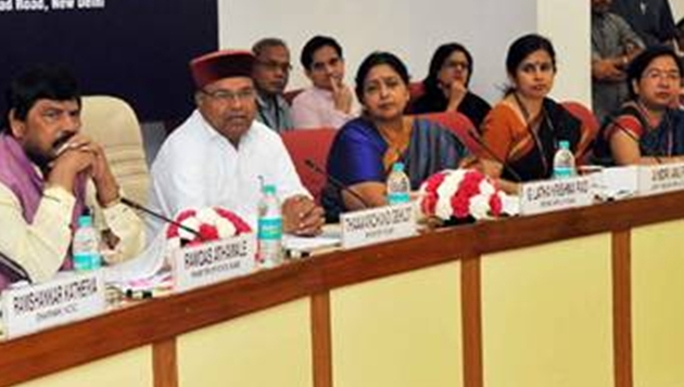 Shri Thaawarchand Gehlot Chaires 5th meeting of Central Monitoring Committeeto Review Implementation of'Prohibition of Employment as Manual Scavengers'