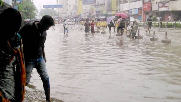 Torrential rains lash Chennai, normalcy affected