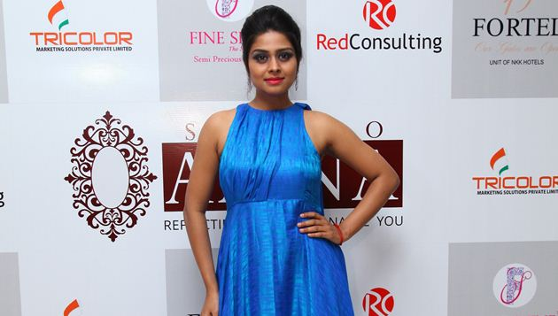 ​Actress Ramya Pandian was the show-stopper at the launch of Studio Aaina