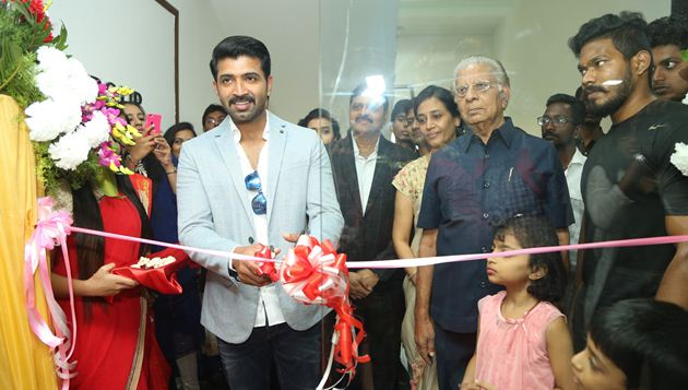Actor Arun Vijay inaugurates the New Sony Center in Nungambakkam on 24th December 2017