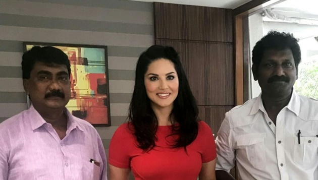 Actress Sunny Leone straight tamil film direction by V C Vadivudayan Produced by Mr.Ponse Stephen of Steeves Corner