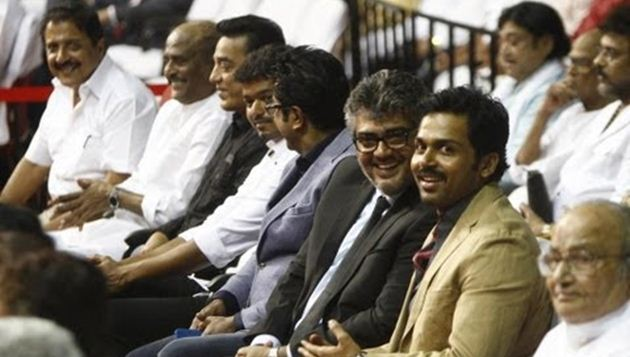 Big plans by Kollywood: Rajini, Kamal, Vijayakanth, Ajith to attend Malaysian star night