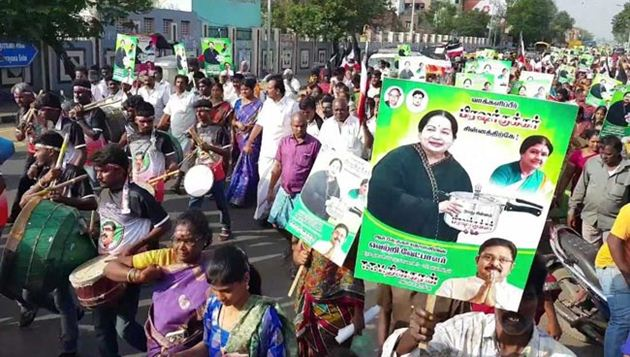 Campaign ends in RK Nagar, polling tomorrow amid tight security