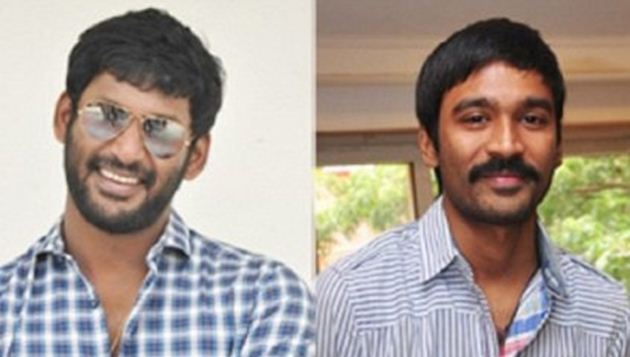Dhanush does it for Vishal