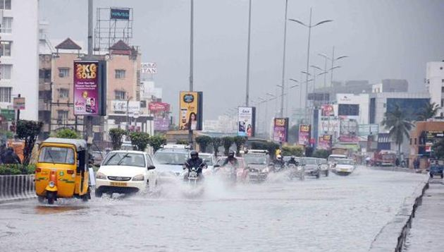 Heavy rains lash TN due to cyclone Okhi, more predicted in coming days