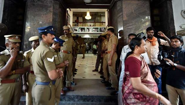Income Tax raids back on premises of Sasikala, relatives