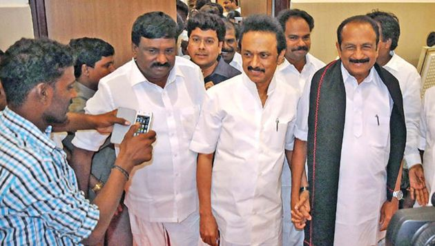 RK Nagar heat intensifies: CM slams rivals, Stalin-Vaiko share stage, TTV meets CEO