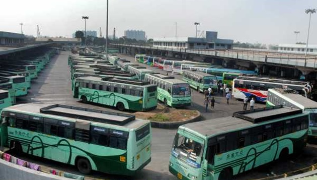 Bus strike enters 6th day, govt to take action against protesting drivers, conductors