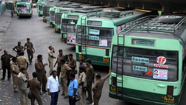 Bus strike: After HC order, TN govt issues warning to transport workers