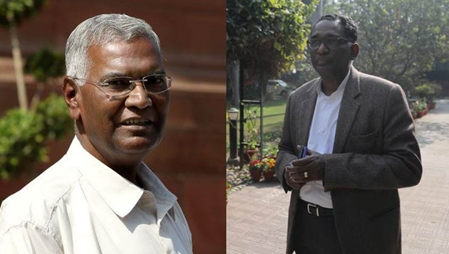 Why D Raja met justice J Chelameswar who revolted against CJI?