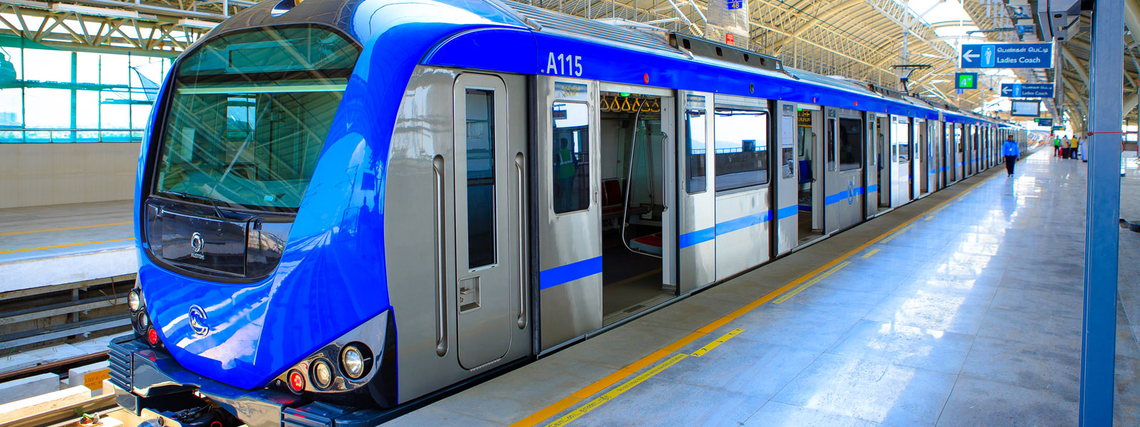 For first time in India, Chennai Metro Rail does chemical-free sanitisation