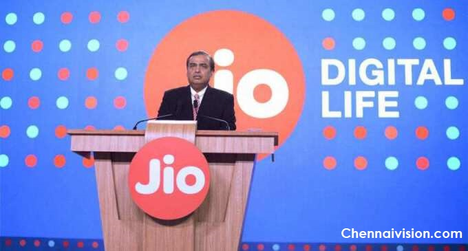 "Jio offers 100 minutes of free Talktime, 100 free SMS to help poor in lockdown""."