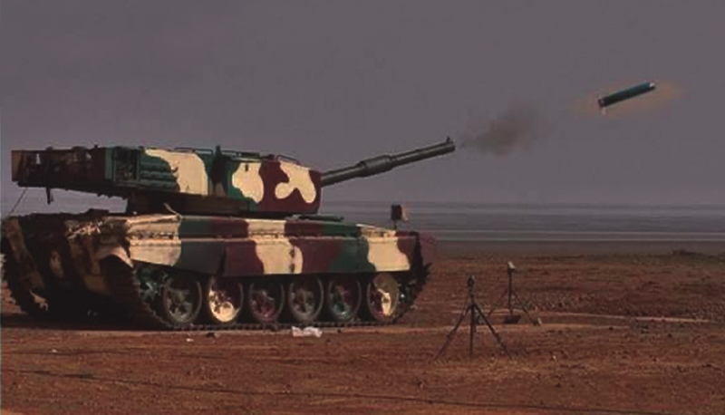 Laser Guided ATGM Successfully Test-fired